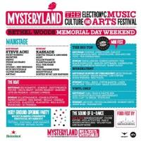 Mysteryland USA Line Up Announced